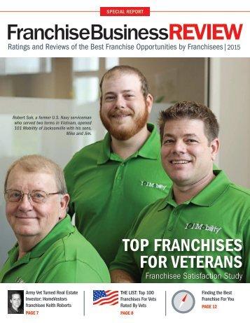 Top Franchises for Veterans 2015