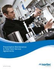 Preventative Maintenance & Total Care Service Agreements