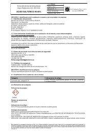 ÁCIDO SULFÚRICO 95-99%