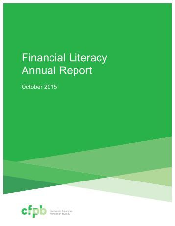 Financial Literacy Annual Report