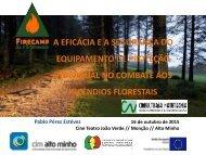 A eficácia e a segurança do Equipamento de Proteção Individual no combate aos incêndios florestais