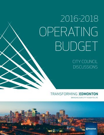 OPERATING BUDGET