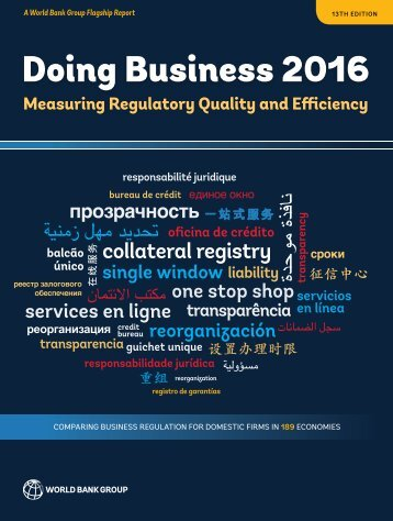 Doing Business 2016