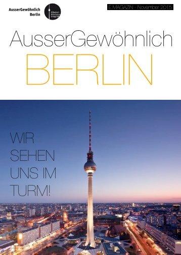 eMagazin AusserGewöhnlich Berlin 11/15