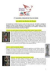 Les saints du diocèse de Rouen