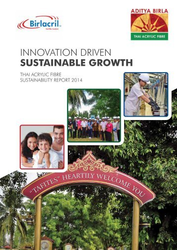 INNOVATION DRIVEN SUSTAINABLE GROWTH