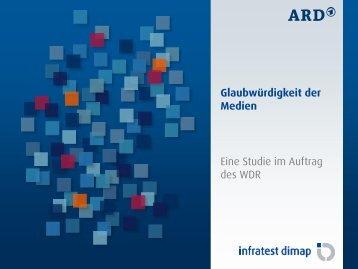 Eine Studie im Auftrag des WDR