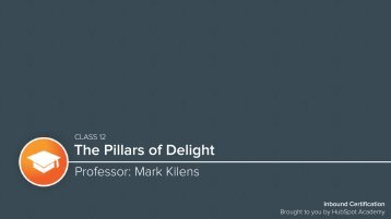The Pillars of Delight