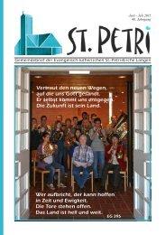 Gemeindebrief 2015-6 Juni & Juli