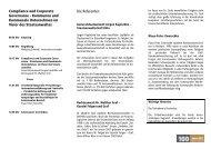 Compliance und Corporate Governance