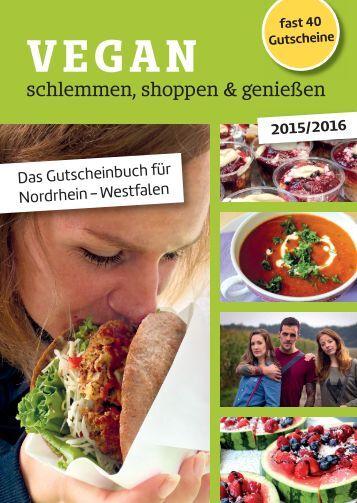 VEGAN schlemmen, shoppen & genießen (2015/2016)