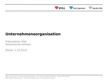 Unternehmensorganisation - Bayrhof Stoll