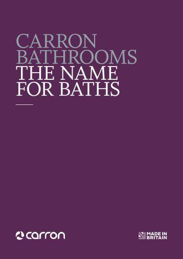CARRON BATHROOMS THE NAME FOR BATHS