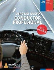 Libro del Nuevo Conductor Profesional - Municipalidad de Puente Alto