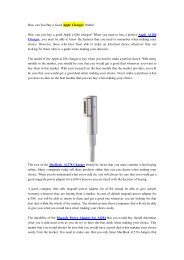 How can You Buy a Good Apple Charger Online-newnow.com