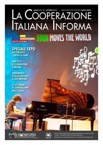 La Cooperazione Italiana Informa