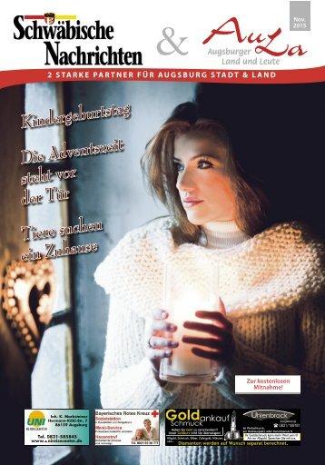 Schwäbische Nachrichten & AuLa - Ausgabe 11/2015