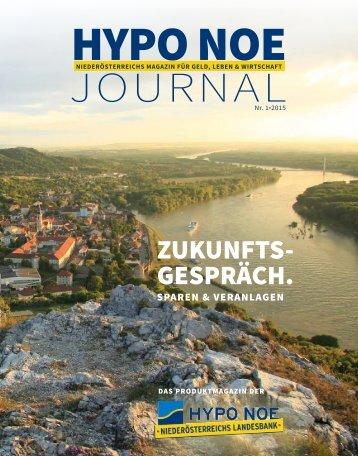 HYPO NOE Journal Nr. 1-2015