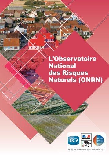 L'Observatoire National des Risques Naturels (ONRN)