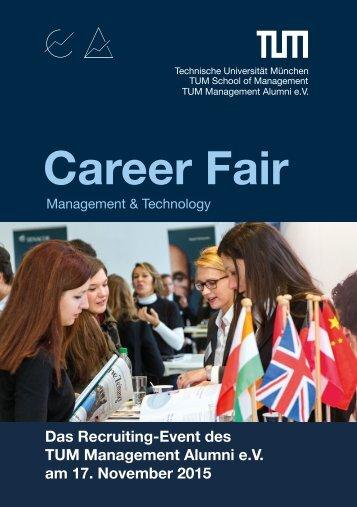 Messekatalog Career Fair Management & Technology