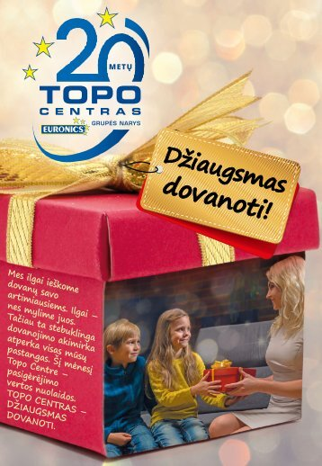 Euronics lapkricio leidinys
