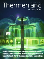 Thermenland Magazin November 2015