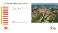Ontwikkeling Leidsche Rijn Centrum