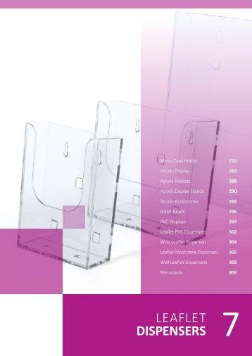 Chap 07 | Leaflet Dispensers