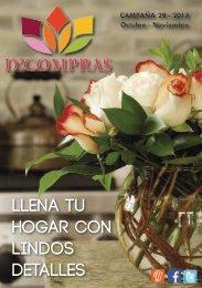 Catálogo D'Compras Octubre 2015