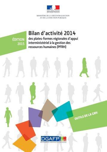 Bilan d'activité 2014 Outils