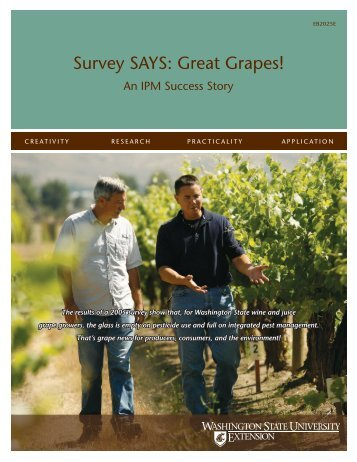 Survey SAYS: Great Grapes! - Computing & Web Resources ...