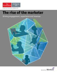 The rise of the marketer