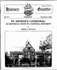 St. GEORGE'S CATHEDRAL: An Historical Study Of A National Monument.