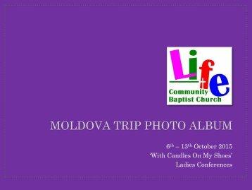 Moldova Trip photo album