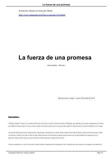 La fuerza de una promesa