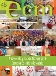 Nuevo ciclo y nuevos tiempos para Escuelas Católicas de Madrid