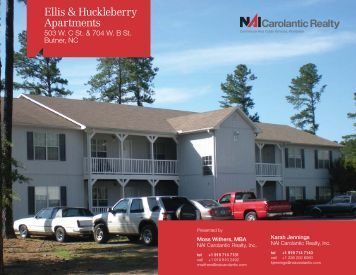 Ellis & Huckleberry Apartments