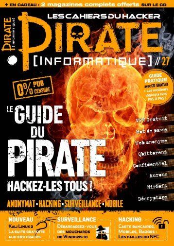 Pirate Informatique N°27 - Octobre-Décembre 2015