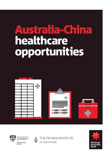 Australia-China healthcare opportunities