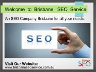 SEO Company  | Search Engine Marketing   | SEO Expert Brisbane