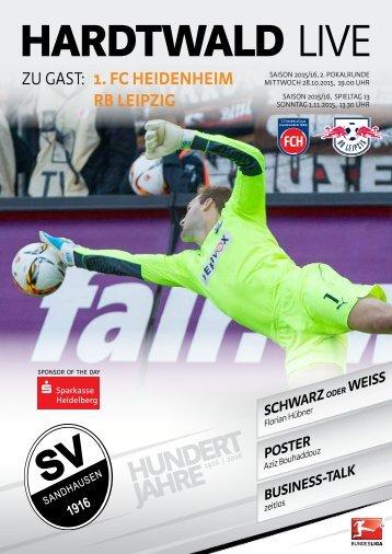 Hardtwald Live, Heft 6, Saison 2015/16