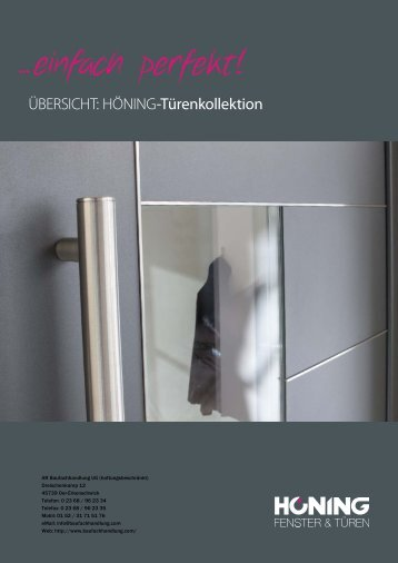 HOENING-Tuerenkatalog 2013 light
