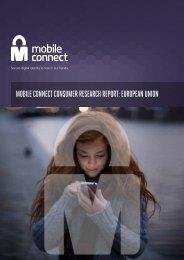 MOBILE CONNECT CONSUMER RESEARCH REPORT EUROPEAN UNION