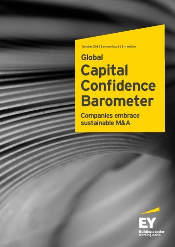 Capital Confidence Barometer