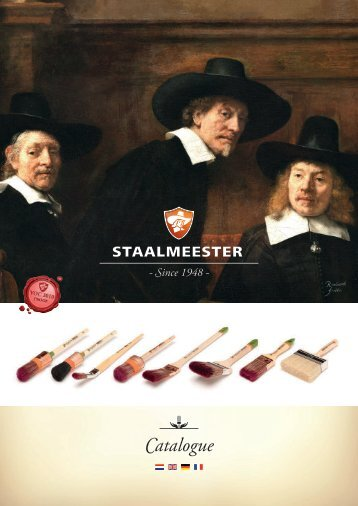 Staalmeester-Paintbrushes-Catalogue