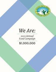 Mission UpReach - 2015 Annual Fund Campaign