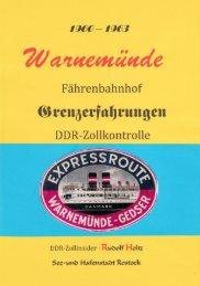 Fährenbahnhof Warnemünde Zollkontrolle 1960 bis 1963