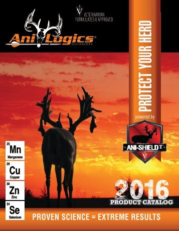 2016 Ani-Logics Digital Catalog