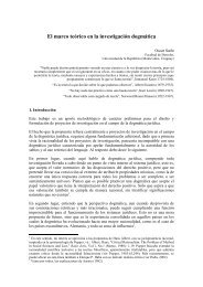 Sarlo - Marco teórico - para Yumpu