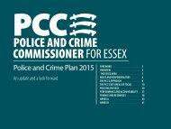 police and Crime Plan 2015